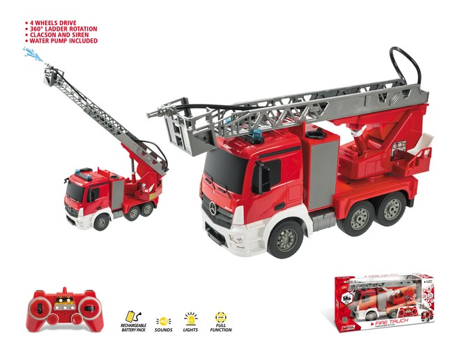 63512 - MERCEDES ANTOS FIRE TRUCK