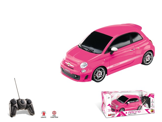 63026 - ABARTH 500 - PINK EDITION