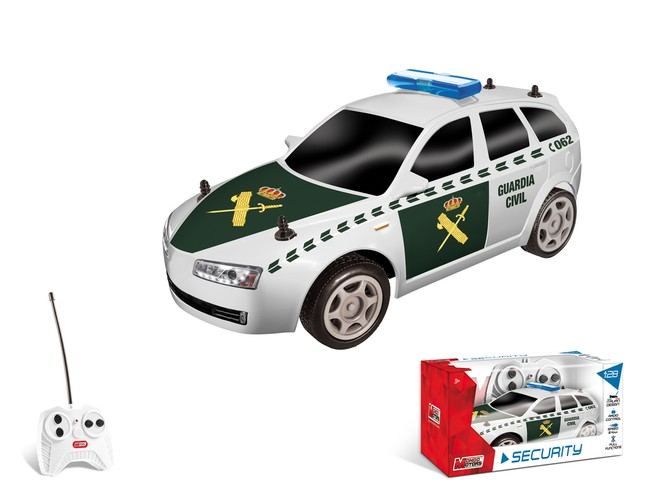 63432 - SPAIN SECURITY CARS COLLECTION