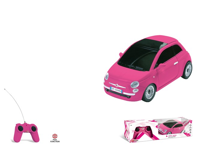 63554 - FIAT 500 - pink edition