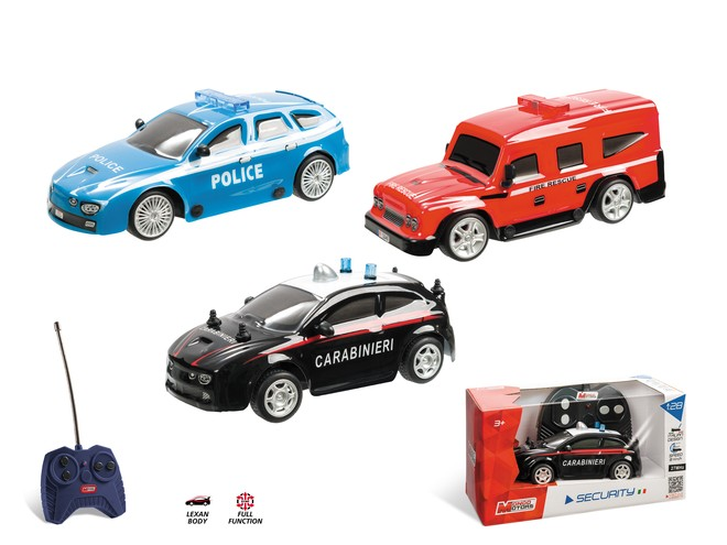 63004 - SECURITY CARS COLLECTION