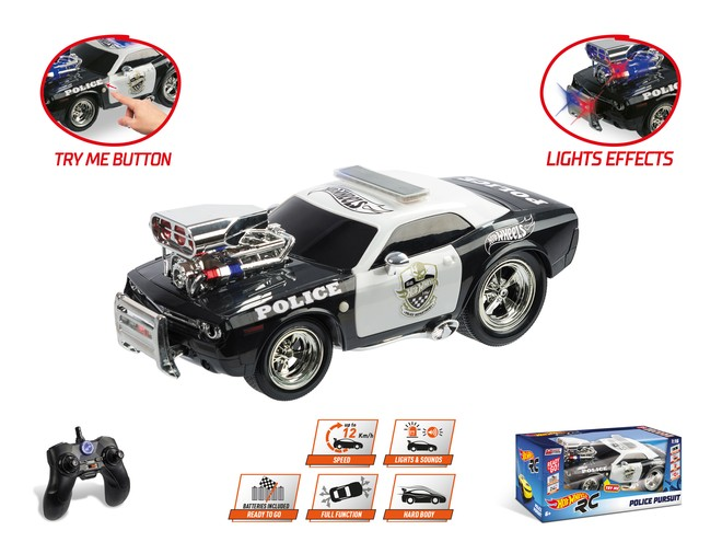 63505 - HOT WHEELS POLICE PURSUIT
