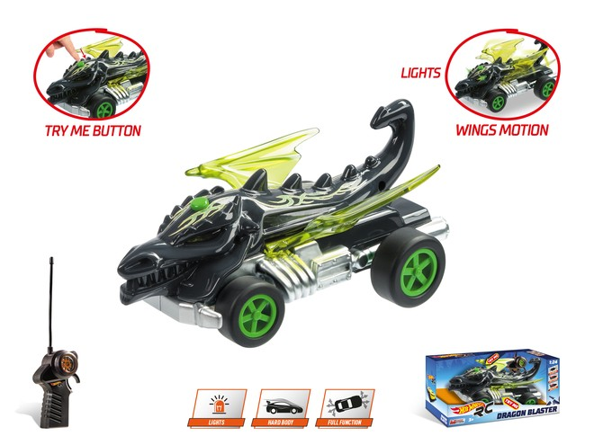 63503 - HOT WHEELS DRAGON BLASTER