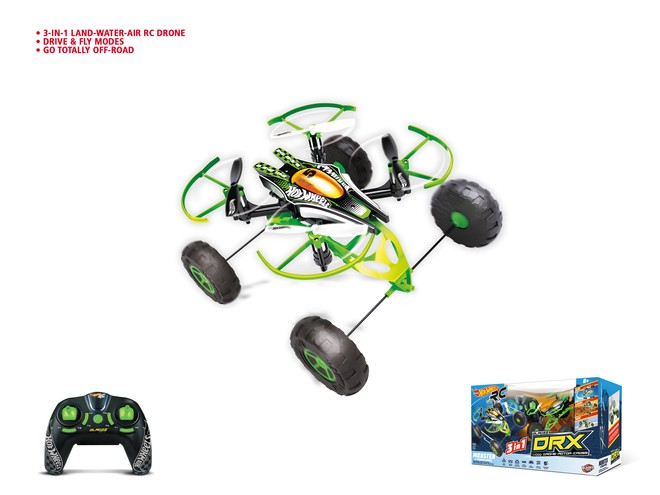 63572 - HOT WHEELS MONSTER X TERRAIN DRONE