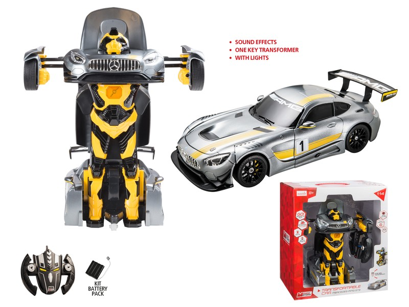 63420 - MERCEDES AMG GT3 TRANSFORMABLE CAR