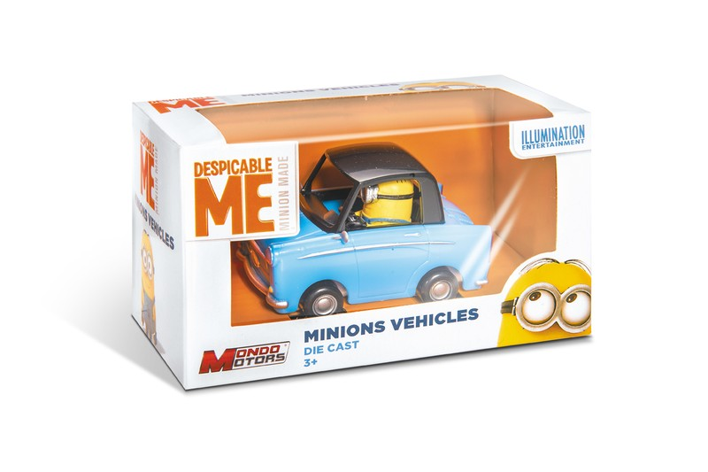 53199 - MINIONS VEHICLES - DISPLAY
