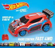 Hot Wheels r/c racing!