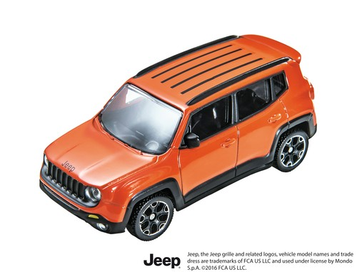 Jeep Renegade in scale!
