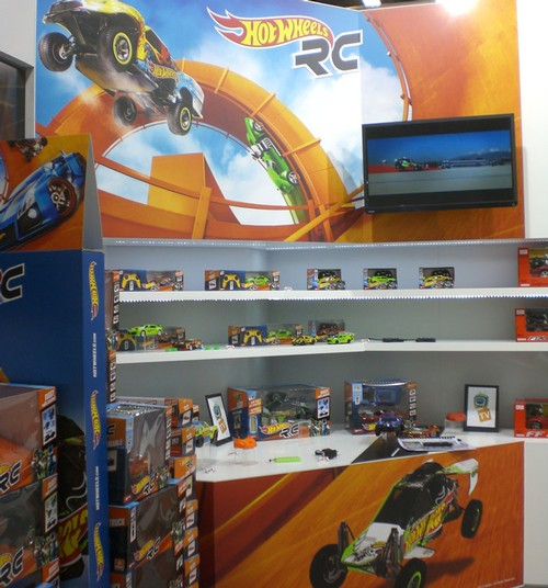 HOT WHEELS RC AT NURNBERG TOY FAIR